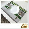 comfort cotton superior quality striped printed style dining table mat