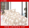 comfortable 4 pcs bedding set/ flowers printed bedlinen/ high quality bedding set