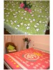 comfortable and durable coral fleece blanket (with good design)