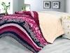 coral fleece comforter