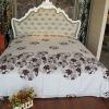 cotton 100% printing bed sheet