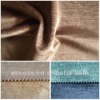 cotton and rayon velvet curtain fabric