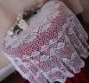 cotton crochet tablecloth