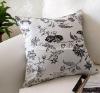 cotton fabric mulberry silk decorative cushion