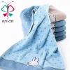 cotton face towel--yarn dyed jacquard velvet towel