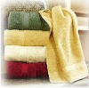 cotton hotel bath towel with border