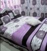 cotton imitated silk bedding set