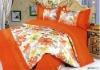 cotton jacquard printed bedding set
