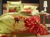 cotton photo printed bedding set