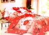 cotton/polyester printed bedding sets