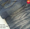cotton polyester spandex denim fabric(with soft finish)