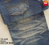 cotton polyester spandex jean fabric(with soft finish)