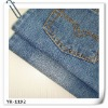 cotton polyester yarn denim fabric;jeans fabric;apparel fabric
