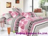 cotton printed bed set