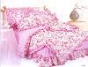 cotton printed bedding, comforter set