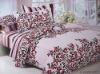 cotton printed bedding set