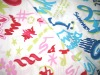 cotton printed voile fabric