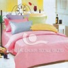 cotton sateen dyed bedding set