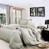 cotton satin jaquard bedding set
