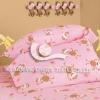 cotton satin printed baby bedding set