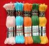 cotton thread,100% cotton thread.cross stitch floss,skeins.yarn.making yarn.hand making yarn.cross stitch floss. embroidery