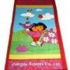 cotton velour beach towel