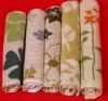 cotton yarn dyed bath mat