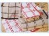 cotton yarn-dyed bath towel