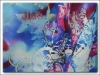 crepe printed polyester fabric