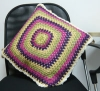 crocheted cushion/fashion cushion