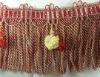 curtain tassel fringe for home textile beaded fringe tassel