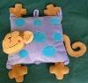 customized plush and stuffed monkey pillow pets
