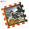 customized spiderman anti slip floor mat