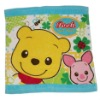 cute baby pooh spring large square kerchief towel