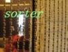 decorative ball chain curtains