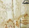 decorative silk leaf embroidery organza light curtain