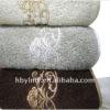designs of composite flowers cotton bath towel
