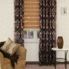 dirty-proof fancy yarn jacquard curtain