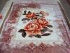 doble ply hot selling elegant 100% polyester blanket