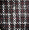 dogtooth check polyester wool acrylic fabrics in plaid