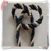 double colour 3 strands polyester decoration tassel cord