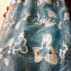 double spangle embroidery fabric