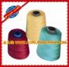 dyed 20/2 virgin ring spun polyester sewing thread