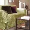 dyeing velvet sofa cover