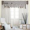elaborate jacquard curtain