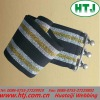 elastic shiny wristband sash for girls
