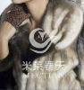 elegant fur coat mink