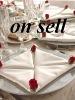 elegant plain polyester table linen napkins
