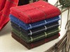 embroidered hotel bath towel