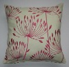 embroidered polyester cushion cover